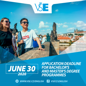 Extended application deadline for the majority of international programmes. Admission process is on-line