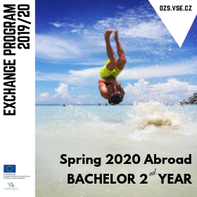 Exchange program applications for 2nd year Bachelor students – Summer 2020