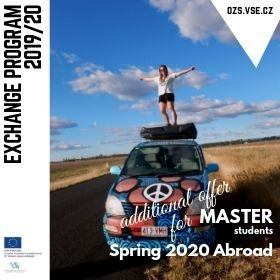 Additional Master Selection Procedure for Exchange Programme in Spring Semester 2020 /9.-24. 7./