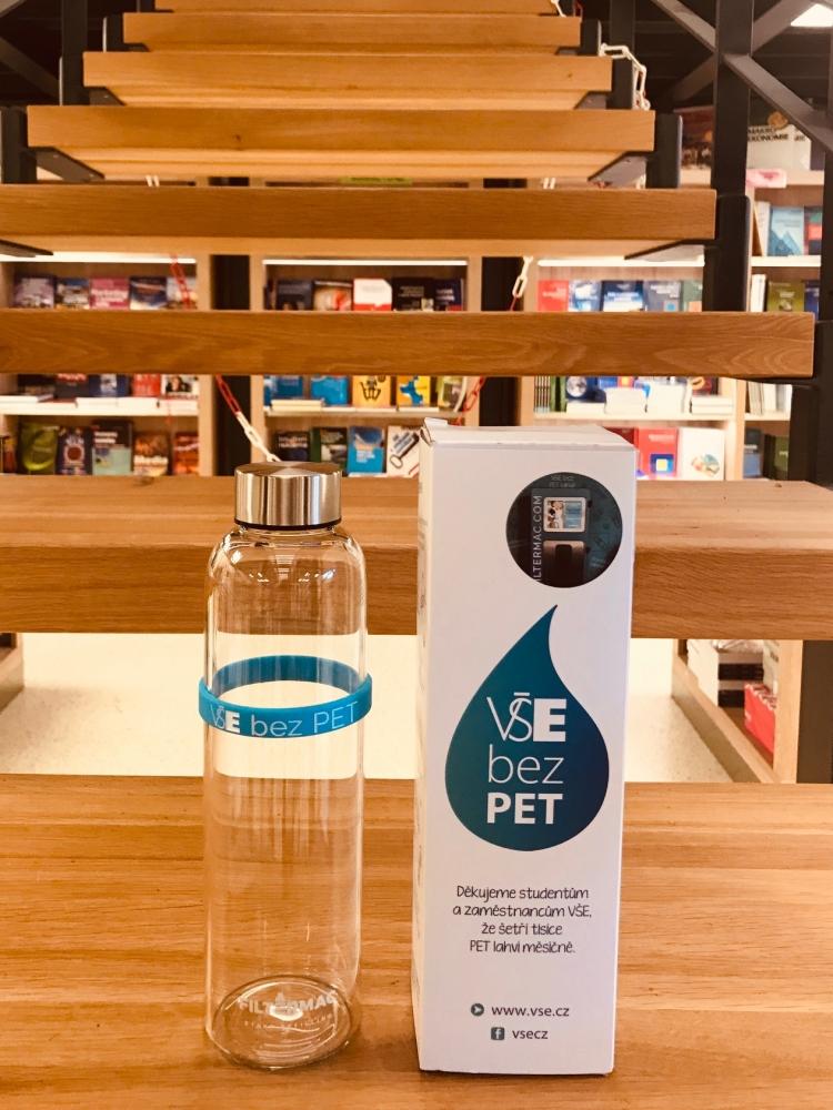 Buy stylish bottle and help to decrease plastic bottles usage