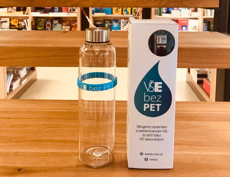 Buy stylish bottle and help to decrease plastic bottles usage