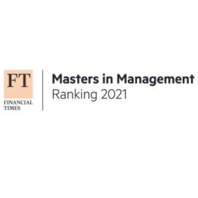 Financial Times: Programme Taught at Faculty of Business Administration is 14th Best in World