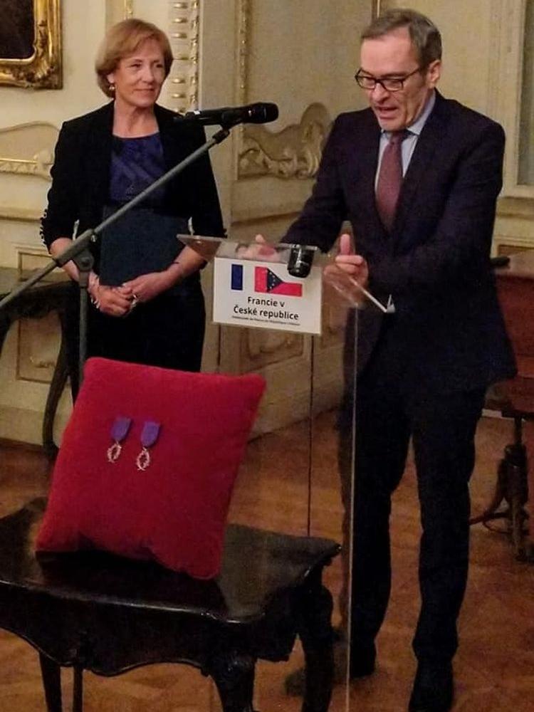 Prof. Jana Fibírová has been awarded the French State Decoration