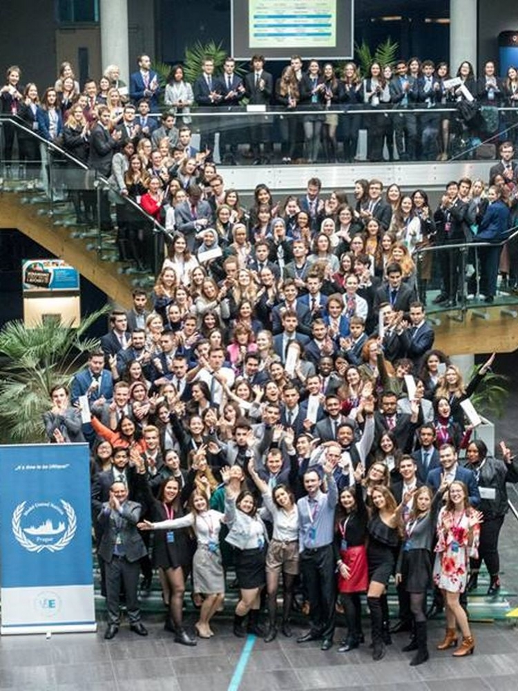The8theditionof international student conference Prague Model United Nation –PragueMUN 2019– took place at VŠE