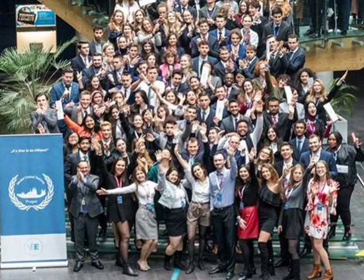 8theditionof international student conference Prague Model United Nation –PragueMUN 2019– took place at VŠE