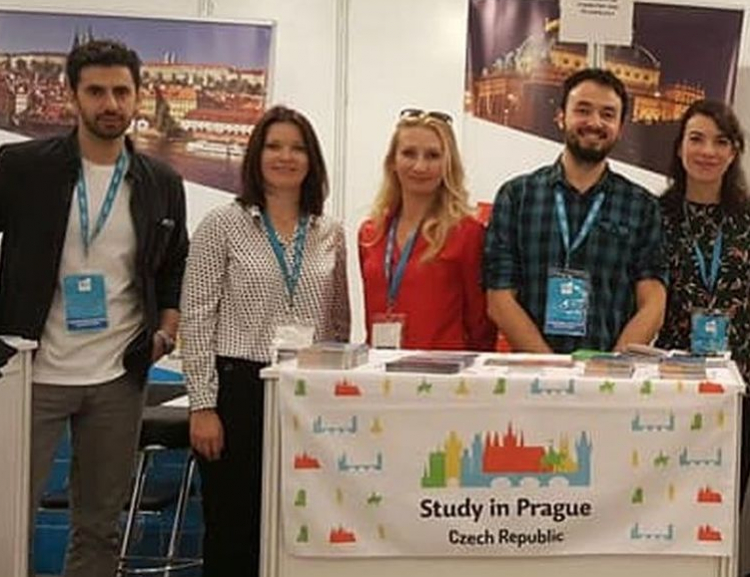 VŠE at IEFT Study Fair in Istanbul
