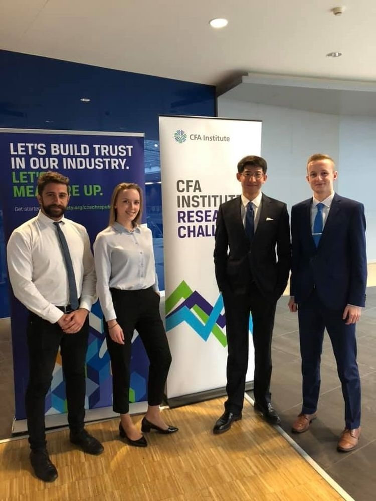 MIFA students participated in the CFA Research Challenge