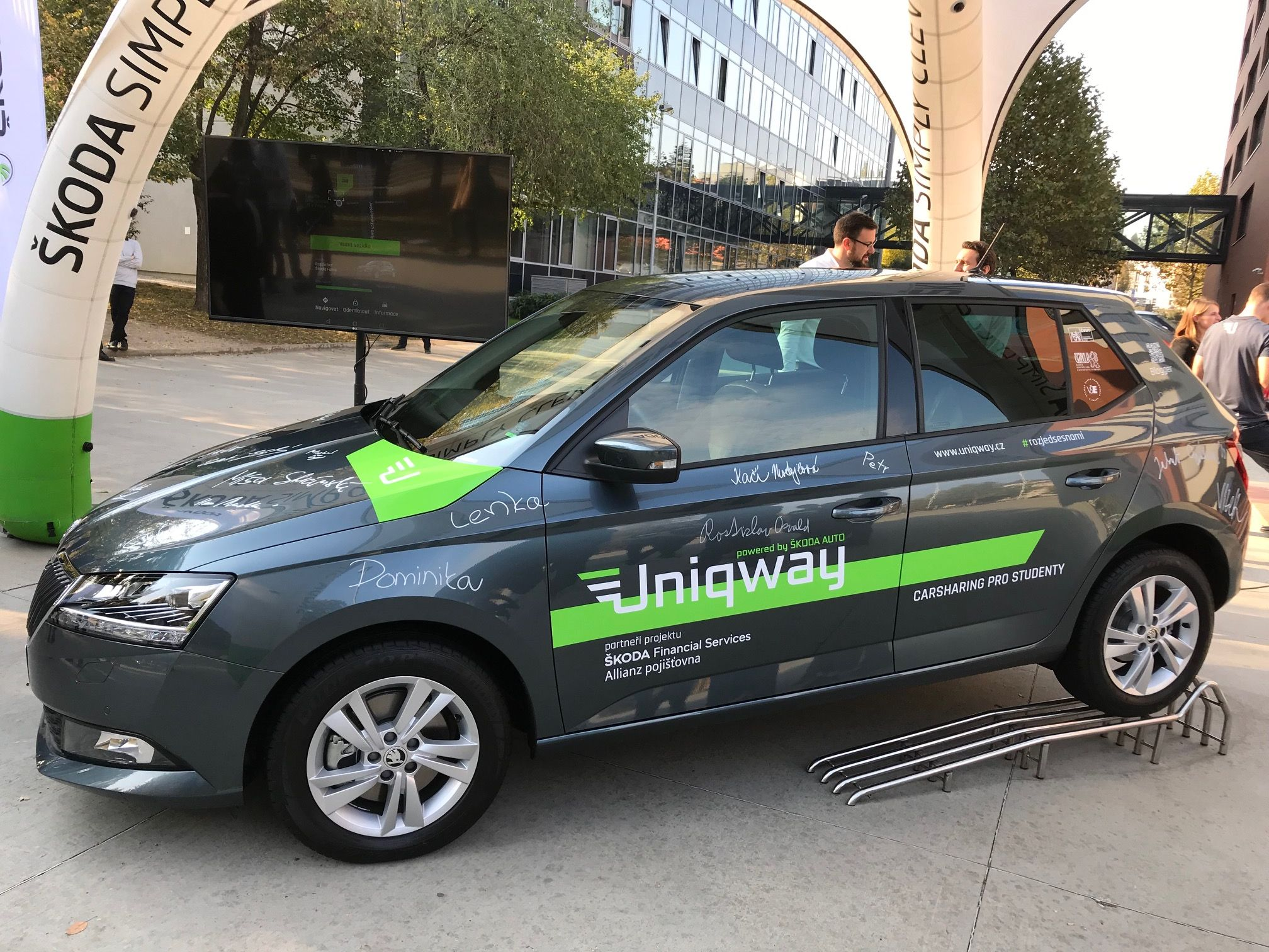 Student Car Sharing launches in Prague – University of Economics a4e787b0662