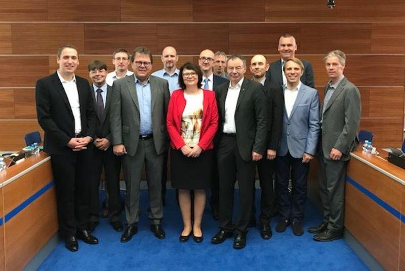 The International Advisory Board of VŠE meeting