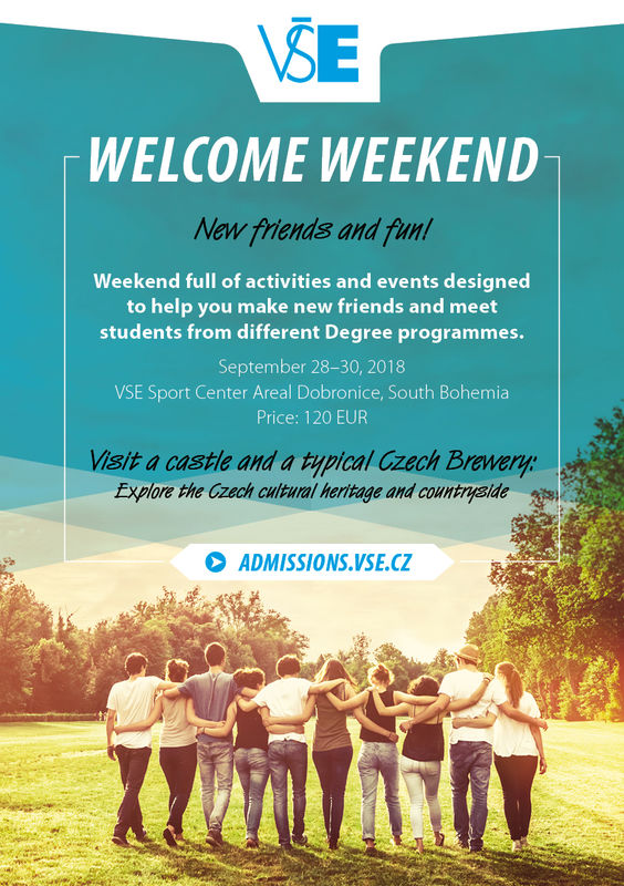 Welcome Weekend for Degree Students