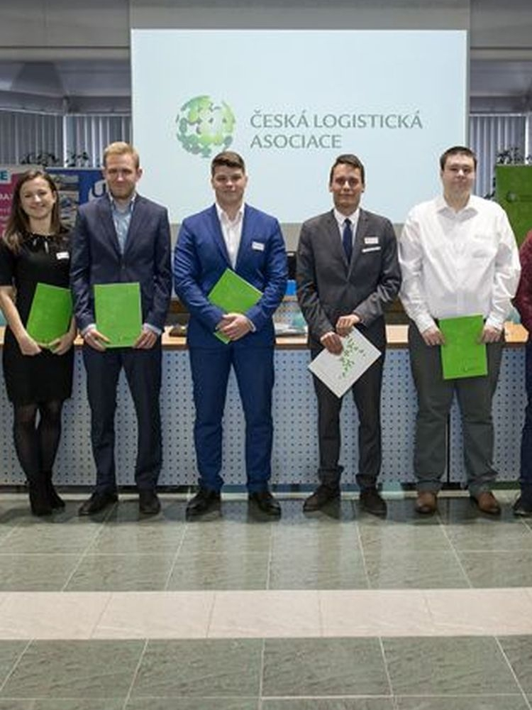 The Department of Logistics awarded the first ECBLc international certificate at the University of Economics, Prague