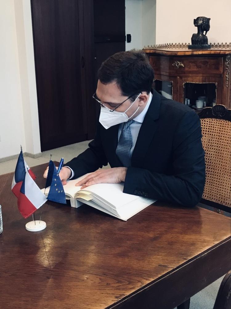 Ambassador of France lectured for VŠE students