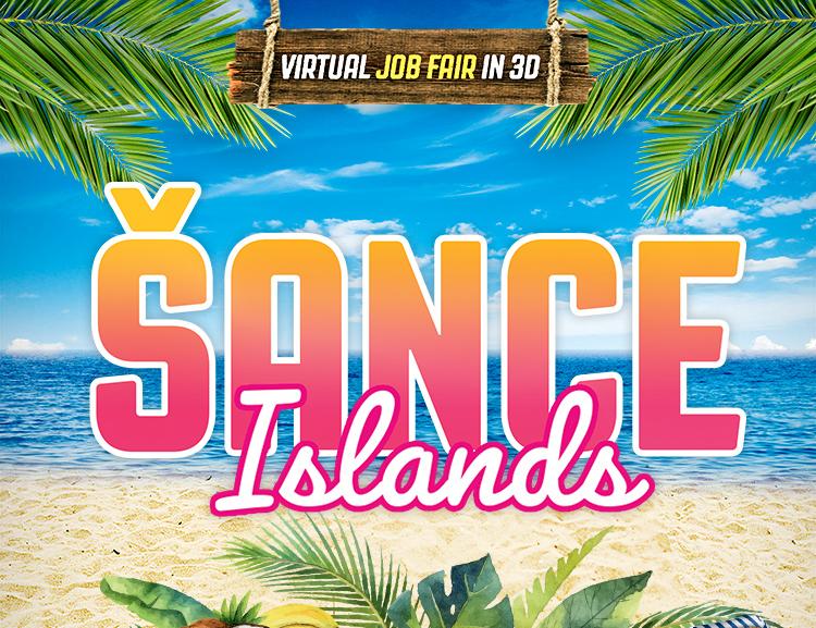 Virtual tropical islands hosted job fair for students VŠE