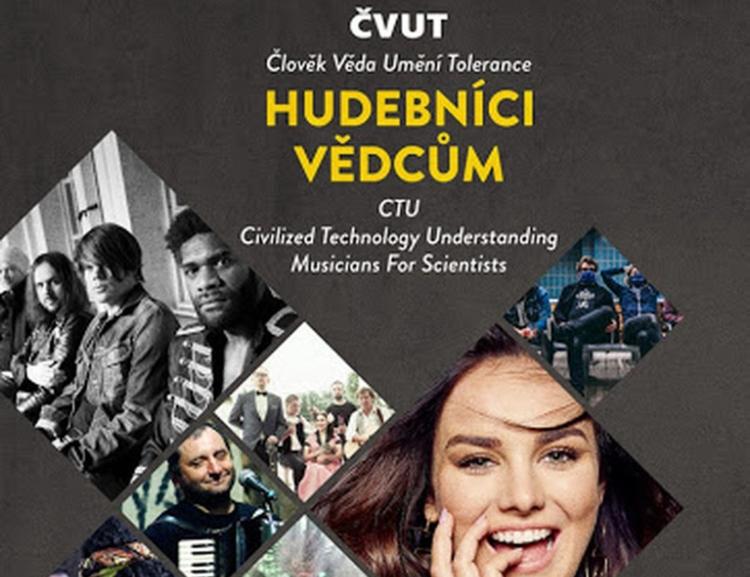 Hudebníci vědcům: Poslechněte si on-line festival, který pořádá ČVUT /13. 5./