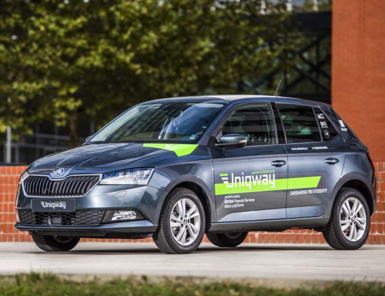 Univerzitní carsharing Uniqway má za sebou prvních 200 000 kilometrů