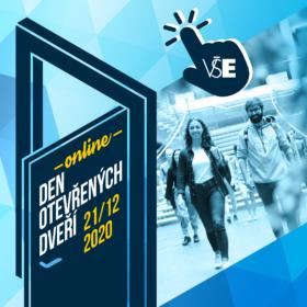 Den otevřených dveří VŠE se uskuteční online 21. 12.