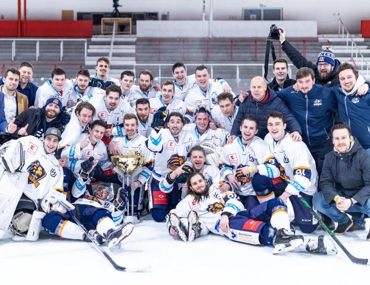 Engineers Prague vyhráli první ročník Univerzitní ligy v ledním hokeji
