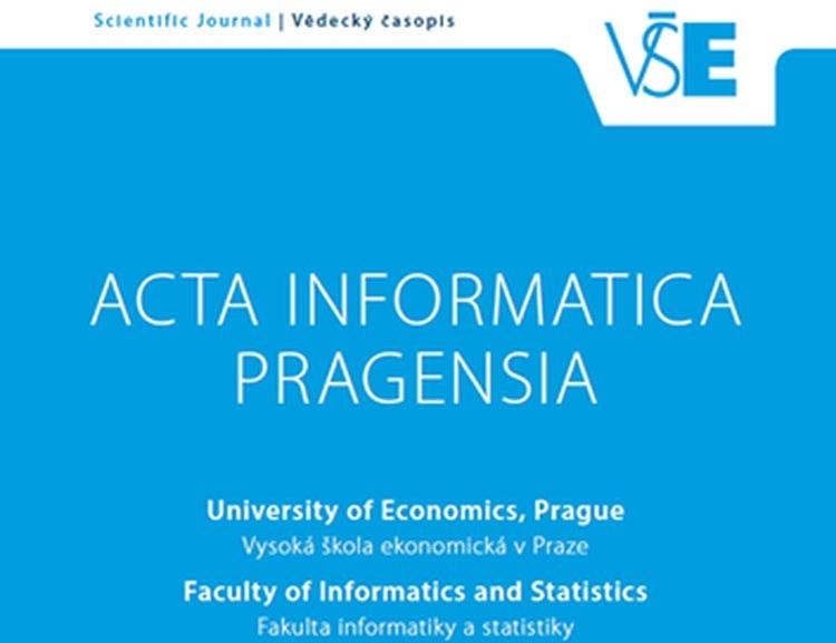 Časopis Acta Informatica Pragensia je nově indexován v databázi Scopus