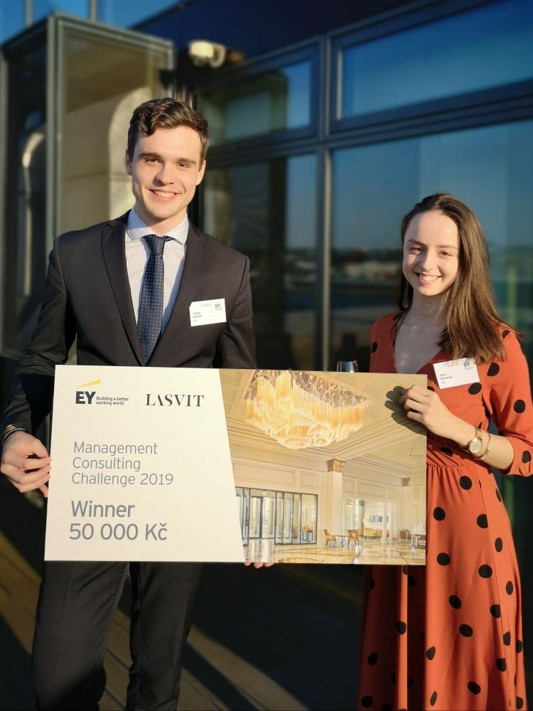 Studenti FMV vyhráli soutěž Management Consulting Challenge 2019