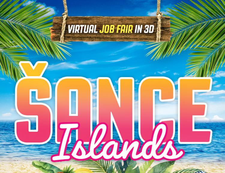 Veletrh práce VŠE hostily virtuální tropické ostrovy