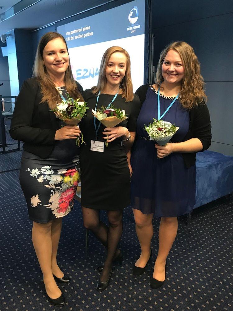 Studentky z FMV úspěšně reprezentovaly školu na konferenci Retail summit 2019