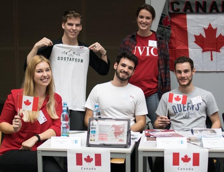 Na VŠE se konal International & Study Abroad Fair 2018