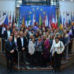 Fotografie č. 5: Studenti a učitelé Národohospodářské fakulty v Evropském parlamentu