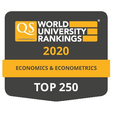 Umístění VŠE v Praze v QS World University Rankings by Subject 2020