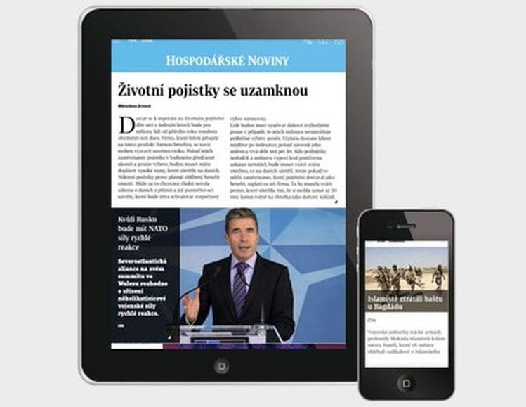 Digitální Hospodářské noviny pro studenty VŠE zdarma