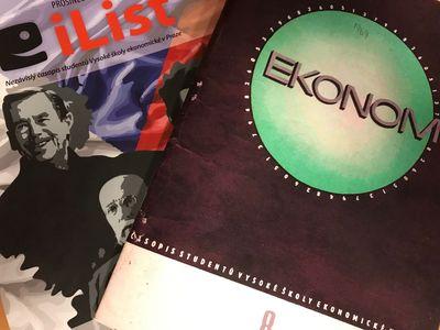 Vychází nový iList s původním vydáním studentského časopisu Ekonom z roku 1969