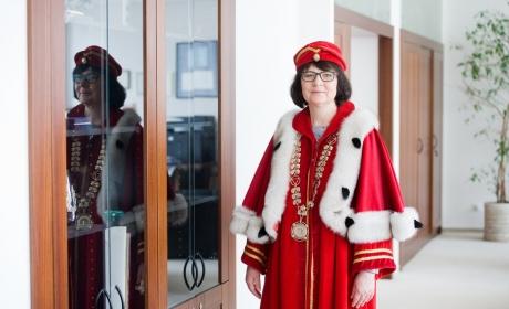 Rozhovor s paní rektorkou u příležitosti jejího jmenování pro druhé funkční období