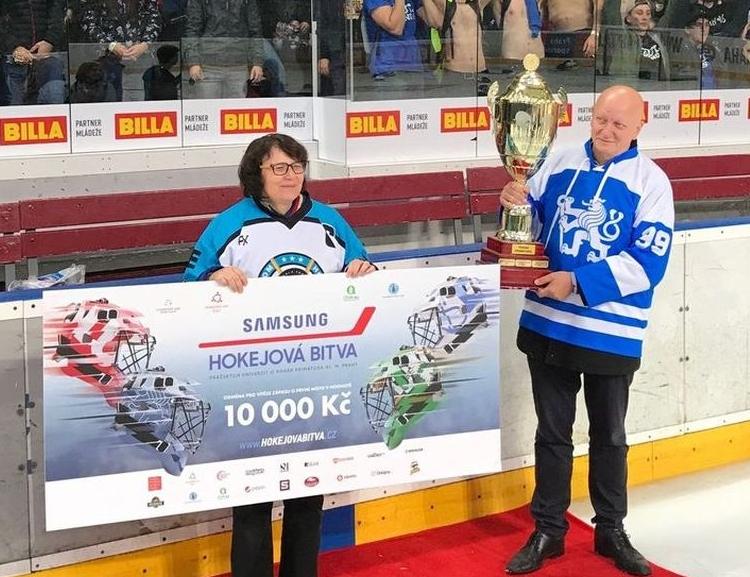 Hokejová bitva 2018: Tým VŠE byl kousek od historického úspěchu
