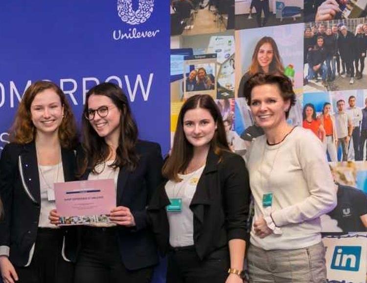 Studentky FPH se probojovaly do globálního kola soutěže Unilever Future Leader's League