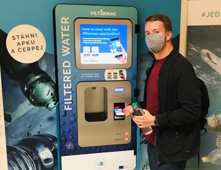 Načerpat filtrovanou vodu lze nově také na Jižním Městě